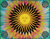Psychedelic Sun Star