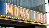 Moms Cafe Neon Sign