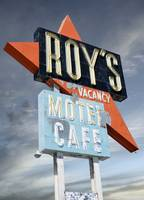 Roys Cafe Neon Sign
