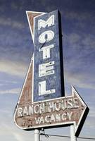 Ranch House Motel Neon Sign
