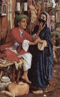 William Holman Hunt, A Street Scene in Cairo; The
