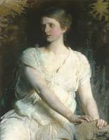 Young Woman , Abbott H. Thayer