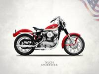 The Vintage Harley XLCH Sportster