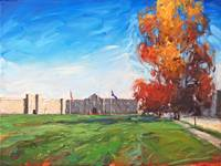 AutumnattheBarracks_18x24oil_AmyHRDonahue_HiRes
