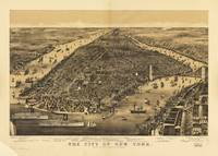 The City of New York by Currier & Ives (1889)