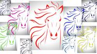 Wallpaper of Horse racing