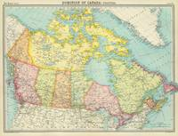 Vintage Map of Canada (1922)