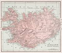 Vintage Map of Iceland (1901)