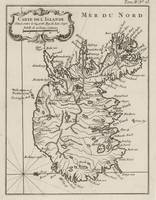 Vintage Map of Iceland (1764)
