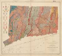 Vintage Connecticut Geology Map (1906)