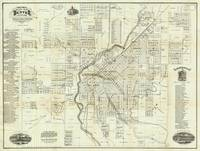 Vintage Map of Denver CO (1879)