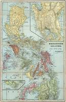 Vintage Map of The Philippines (1898)