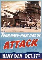 Navy Day poster, October 27, 1942