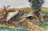 1918 Tents, Bailleul