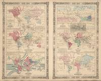 Vintage World Map Collection (1865)