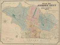 Vintage Map of Jersey City NJ (1879)