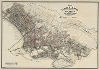 Vintage Map of Oakland CA (1912)