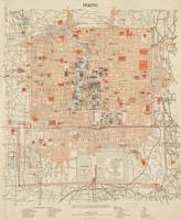 Vintage Map of Beijing China (1903)