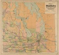 Vintage Map of Manitoba (1903)