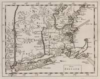 Vintage Map of New England (1681)