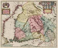 Vintage Map of Finland (1665)