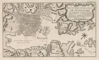 Vintage Map of Nagasaki Japan (1764)