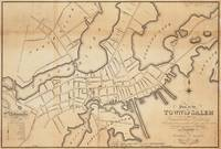 Vintage Map of Salem MA (1820)