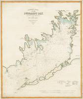 Vintage Map of Buzzards Bay MA (1876)