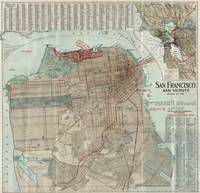 Vintage Map of San Francisco CA (1914)