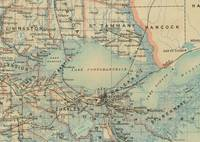 Vintage Map of Lake Pontchartrain (1896)