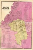 Vintage Map of Mount Vernon NY (1868)