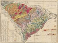 Vintage Geological Map of South Carolina (1883)