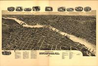 Vintage Map of Rockford Illinois (1891)