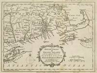 Vintage Map of Cape Cod & Rhode Island (1778)