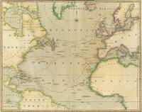 Vintage Map of The Atlantic Ocean (1817)