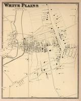 Vintage Map of White Plains NY (1867)
