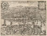 Vintage Pictorial Map of Zurich Switzerland (1581)