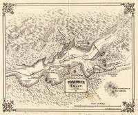 Vintage Map of Yosemite Valley (1879)