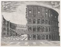 Vintage Diagram of The Roman Colosseum (1581)