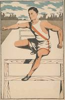 Vintage Track Athlete Illustration (1906)