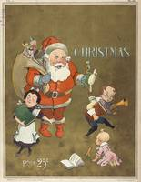 Vintage Frustrated Santa Claus Illustration (1901)