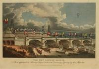 Vintage New London Bridge Illustration (1831)