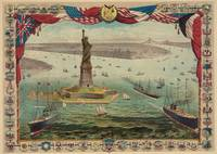 Vintage Statue of Liberty & NYC Illustration (1884