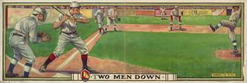 Vintage Baseball Game Artwork (1909)
