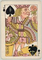 Vintage Jack of Spades Playing Card Illustration
