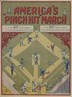 Vintage WWI Baseball Game Cartoon (1919)