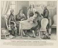 Vintage Illustration of the Declaration Committee