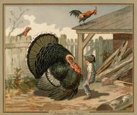 Vintage Thanksgiving Turkey Argument Illustration