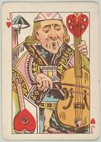 Vintage Jack of Hearts Playing Card Illustration