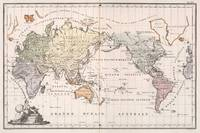 Vintage Map of The World (1842)